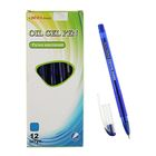 """Ручка шариковая Nanoslick New ТА 3176-BL """"Изящная"""", узел 0.7мм, стержень синий на мясляной основе"""