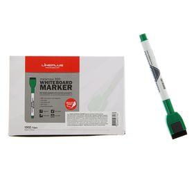 Маркер для доски 2.5 мм MiniMax-820 зелёный, магнит и губка