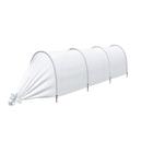Парник прошитый «Агроном», длина 3.5 м , 4 дуги из пластика, дуга L = 2 м, d = 20 мм, укрывной материал 45 г/м²
