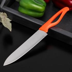 Нож кухонный Доляна «Раймонд», лезвие 17 см, цвет МИКС