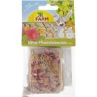 Камень минеральный суглинистый JR FARM для грызунов, с цветками, 1шт