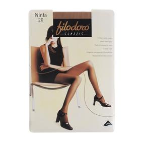 Колготки женские Filodoro Ninfa, 20 den, размер 3, цвет cognac