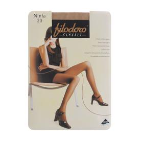 Колготки женские Filodoro Ninfa, 20 den, размер 4, цвет playa