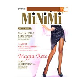Колготки женские MiNiMi Magia Rete, 20 den, размер 2, цвет nero
