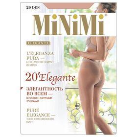 Колготки женские MiNiMi Elegante, 20 den, размер 2, цвет nero