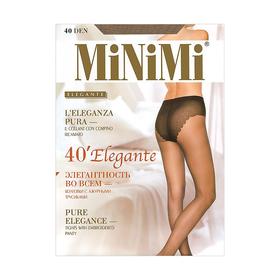Колготки женские MiNiMi Elegante, 40 den, размер 3, цвет caramello