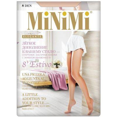 Колготки женские MiNiMi Estivo Nudo, 8 den, размер 2, цвет caramello