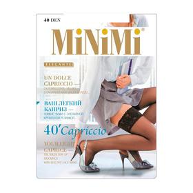 Чулки женские MiNiMi Capriccio, 40 den, размер 1/2, цвет daino