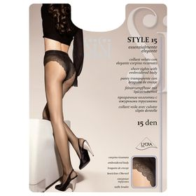 Колготки женские Sisi Style, 15 den, размер 2, цвет naturelle