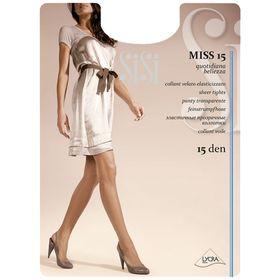 Колготки женские Sisi Miss, 15 den, размер 4, цвет naturel