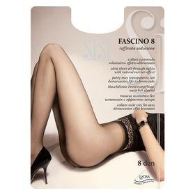 Колготки женские Sisi Fascino, 8 den, размер 3, цвет nero