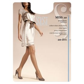 Колготки женские Sisi Miss, 20 den, размер 3, цвет miele