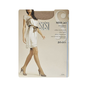 Колготки женские Sisi Miss, 20 den, размер 4, цвет naturelle