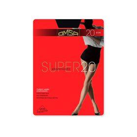 Колготки женские Omsa Super, 20 den, размер 2, цвет caramello