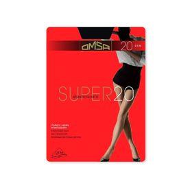 Колготки женские Omsa Super, 20 den, размер 2, цвет nero