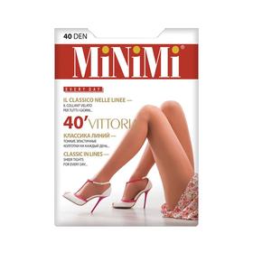 Колготки женские MiNiMi Vittoria, 40 den, размер 4, цвет daino