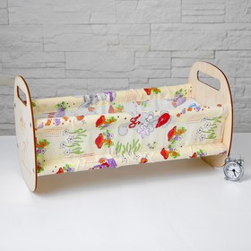 Кроватка «Люлька», с текстилем