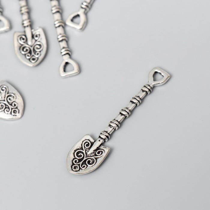 Сувенир кошельковый металл Лопата 4,2х1 см