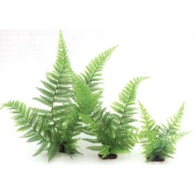 Растение пластиковое Папоротник, 40см, зеленое