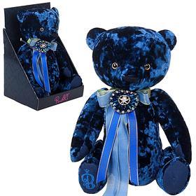 Мягкая игрушка «Медведь БернАрт», цвет сапфировый