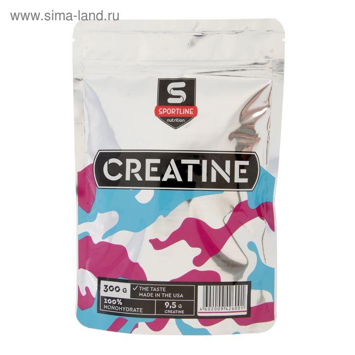 Креатин SportLine Creatine Monohydrate Bag, 300 г