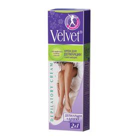 Депилятор Velvet 2в1, смягчяющий, с экстрактом полевых цветов, 100 мл