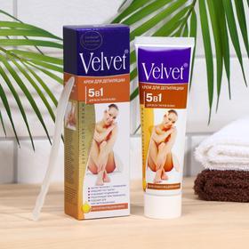 Депилятор Velvet 5в1, замедление роста волос, против врастания, 100 мл