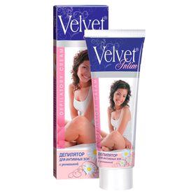 Депилятор Velvet, для интимных зон, с ромашкой, 100 мл