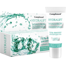 Гель-филлер глубокого действия для контура глаз Compliment Hydralift Hyaluron, 25 мл