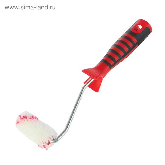 "Мини-валик ""АКОР"" Профи, полиакрил, 60 мм, ручка d=6 мм, D=15 мм, ворс 12 мм, для водных ЛКМ"