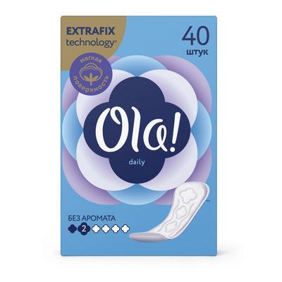 Прокладки ежедневные Ola! Daily, 40 шт. - Фото 1