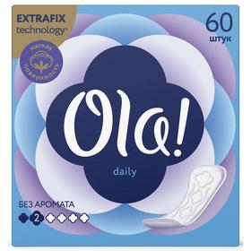Прокладки ежедневные Ola! Daily Deo, 60 шт.