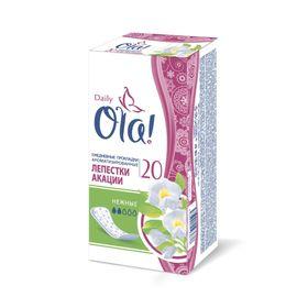 Прокладки ежедневные Ola! Daily Deo «Лепестки акации», 20 шт.