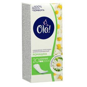 Прокладки ежедневные Ola! Daily Deo «Ромашка», 20 шт.