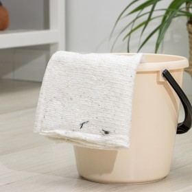 Салфетки для пола без оверлока 50×60 см, хлопок Ош