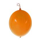 """Шар латексный 16"""" Панч-болл Оранжевый 1 шт."""