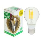 Лампа светодиодная Sky Lark, E27, A60, 6 Вт, 2700 K, теплый белый