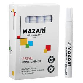 Маркер-краска (лаковый) 2.0 мм, Effecto, белый, М-5008 Ош