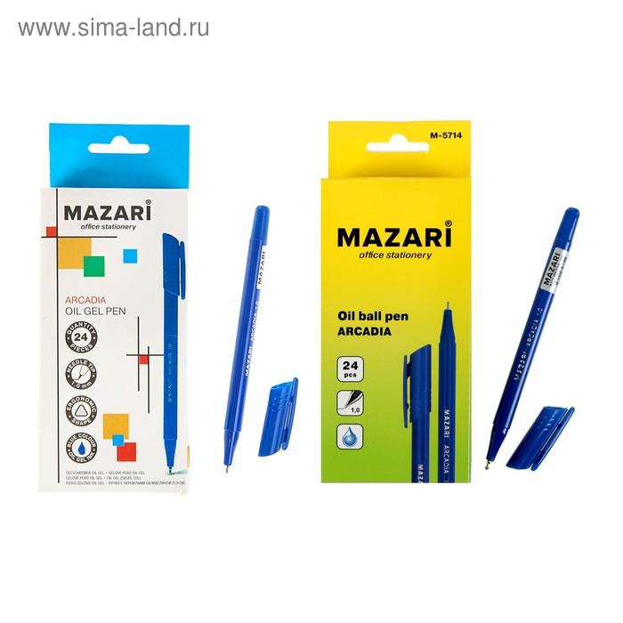Ручка шариковая Arcadia, узел 1.0мм, синие чернила