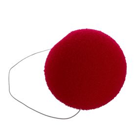 Нос на резинке, 6 см, цвет красный Ош
