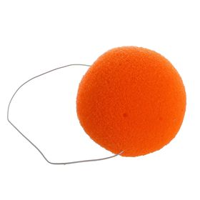 Нос на резинке, 6 см, цвет оранжевый Ош
