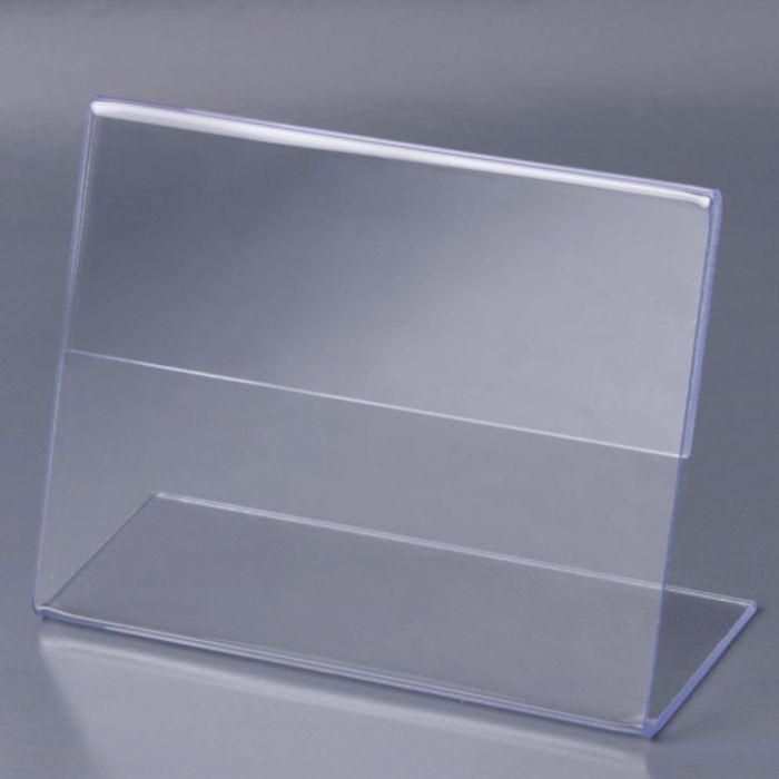 Держатели для ценников, комплект 10 штук, 8 х 6 см, оргстекло
