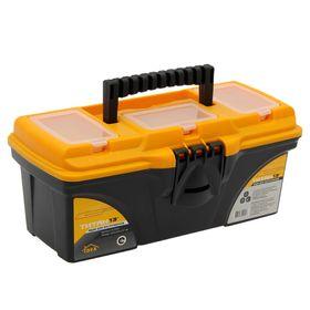 """Ящик для инструментов 13' """"Титан"""", цвет черный с желтым"""