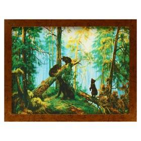 Гобеленовая картина 'В сосновом бору' 44х34 см Ош