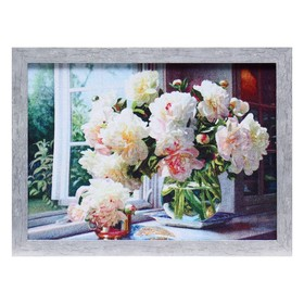 Гобеленовая картина 'Пионы на окне' Ош