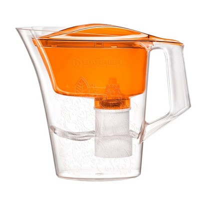 Фильтр-кувшин «Барьер-Танго», 2,5 л, с узором, цвет оранжевый - Фото 1