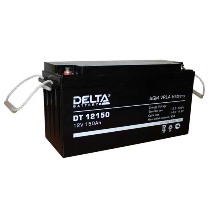 Аккумуляторная батарея Delta DT12150, 12 В, 150 А/ч