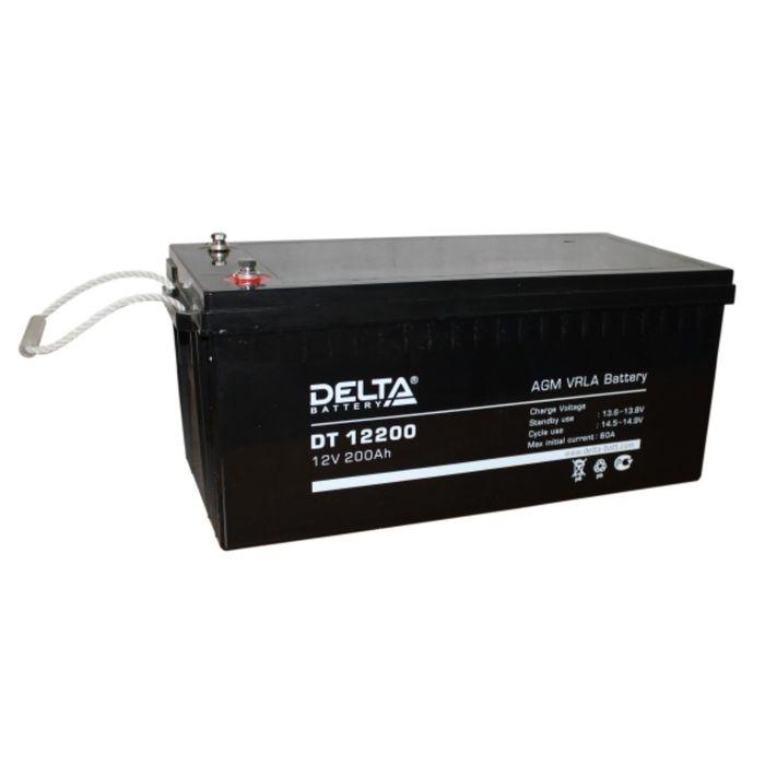 Аккумуляторная батарея Delta DT12200, 12 В, 200 А/ч