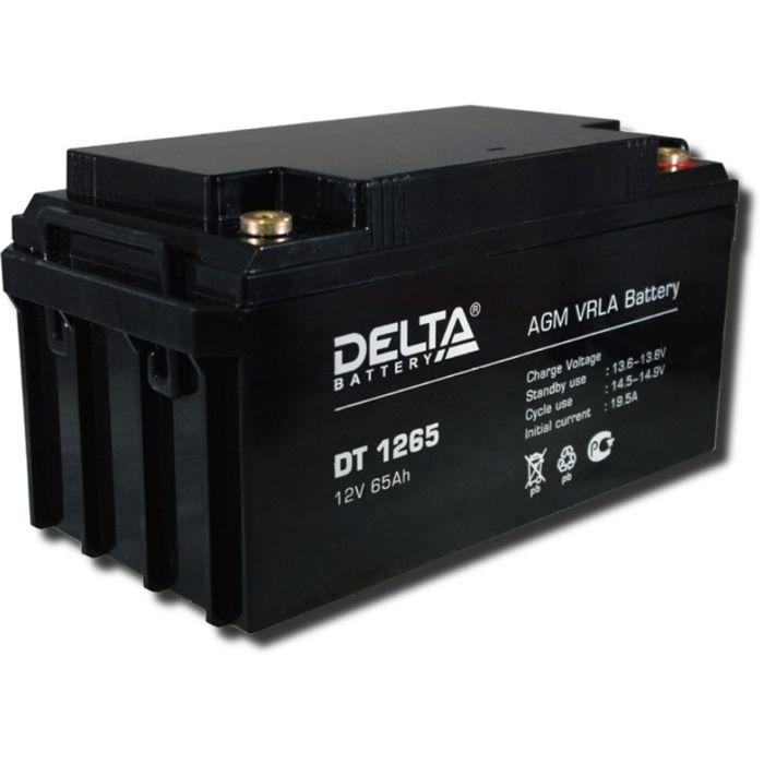 Аккумуляторная батарея Delta DT1265, 12 В, 65 А/ч