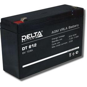Аккумуляторная батарея Delta DT612, 6 В, 12 А/ч Ош